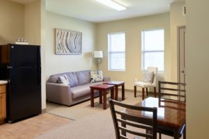 One Bedroom Senior Apartment at Silver Birch in Michigan City, IN
