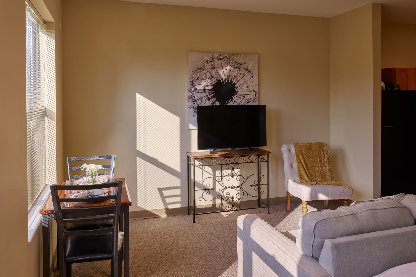 Studio Apartment in Michigan City IN at Silver Birch Senior Living Community