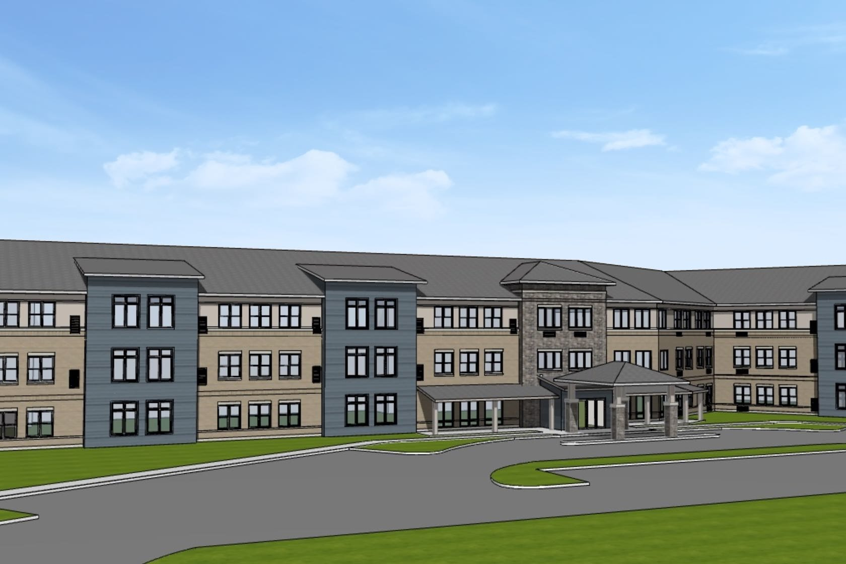Silver Birch Terre Haute Assisted Living Building